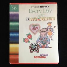 Bernina Embroidery Card #543 Months & Every day with Mary for Artista series
