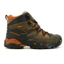 """Keen Mens Pittsburgh 6"""" WP Soft Toe Work Safety Boots US 10.5 EE WIDE EU 44"""
