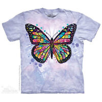 Butterfly Kids T-Shirt by The Mountain. Wild Birds Bugs Russo Youth NEW