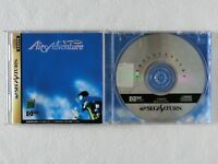 AIRS ADVENTURE SS GAME STUDIO Sega Saturn From Japan