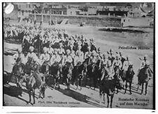 Russian Cossacks on Horseback 1914 Russia 7x5 Inch Reprint Photo