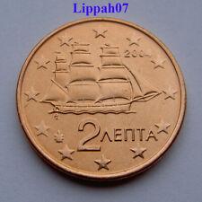 Griekenland / Greece 2 cent 2004 UNC