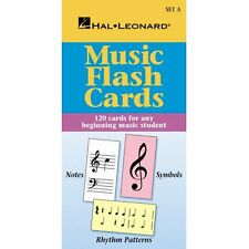 Hal Leonard 00296034 Music Flash Cards - Set A