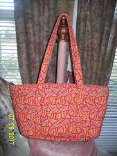 kate & Sara Quilted Print Shoulder Bag