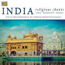 Deben Bhattacharya : India: Religious Chants - Sikh, Buddhist, Hindu CD (2015)
