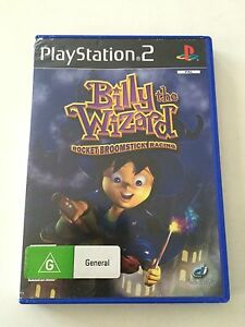 Billy The Wizard - Rocket Broomstick Racing Sony PlayStation 2 PS2 Game