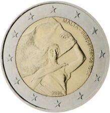 2 EURO COMMÉMORATIVE DE MALTE 2014 UNC - 50 ANS DE L'INDÉPENDANCE DE MALTE