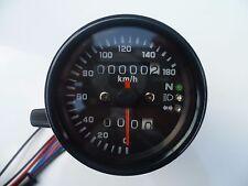 Speedo, 60mm, Warning Lights, Motorcycle, Cafe Racer, Bobber, Tracker, Bike
