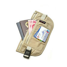 Outdoor Traveling Security Close Fitted Waist Pack Bag Money Pocket Pouch Wallet