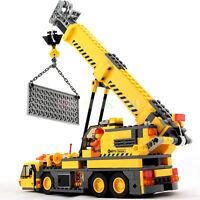 Plastikbausteine-Kran-LKW-Kinder Fahrzeug Block-Stadt 380 PCS Spielzeug Set