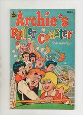 Archie's Roller Coaster #1 - Carnival Fun - (Grade 6.0) 1987