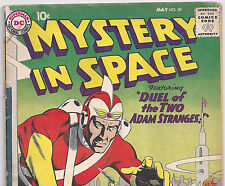 DC Comics Mystery in Space #59 Adam Strange from May. 1960 in G/VG con.