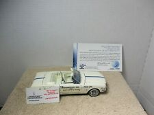 1/24 SCALE FRANKLIN MINT 1964 1/2 FORD MUSTANG INDY 500 PACE CAR