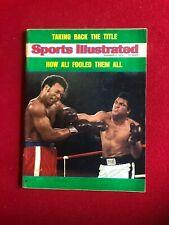 "1974, Muhammad Ali, ""SPORTS ILLUSTRATED"" Magazine (Scarce / Vintage)"
