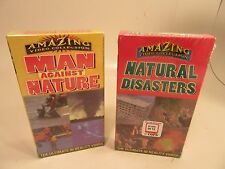 Amazing Video Collection Natural Disasters and Man Against Nature vcr tapes