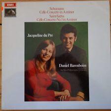 ASD 2498 Schumann / Saint-Saens Cello Concertos / Jacqueline du Pre / Barenbo...