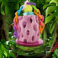 Pet Hamster Calcium Teeth Grinding Stone Rabbit Parrot Bird Chew Toys Accessory