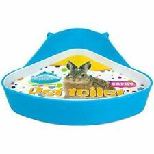 New listing Plastic Pet Toilet, Small Animal Litter Tray Corner for Hamster Pig Rabbit Pee
