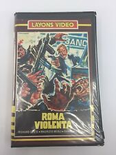 VIOLENT CITY - 1975 - VHS - PAL - Layons Video Label - SPAIN - ULTRA RARE