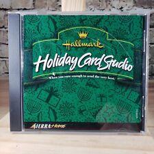 Hallmark Holiday Card Studio CD ROM B432-Green Label-Vtg 2000