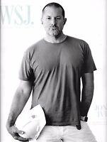 Wall Street Journal Magazine John Ive Apple Headquarters Rapper Vince Staples