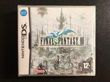 Final Fantasy III NDS PRECINTADO!!