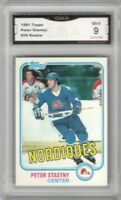 1981-82 Topps #39 Peter Stastny RC | Graded MINT 9