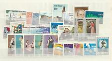 1973 MNH Finland year complete according to Michel system