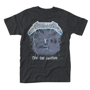 Metallica 'Ride The Lightning' T shirt - NEW