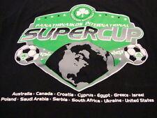 Panathinaikos International Soccer Cup Adidas Apparel Sports Fan Black T Shirt S