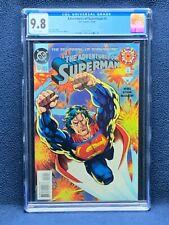 Adventures of Superman #0 Vol 1 Comic Book - CGC 9.8