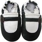 carozoo Mary Jane black 12-18m soft sole leather baby shoes
