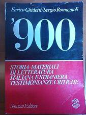 GHIDETTI / ROMAGNOLI - '900 - SANSONI EDITORE 1985