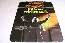 johnny hallyday PAR FRANCOIS REICHENBACH ! affiche cinema  :m