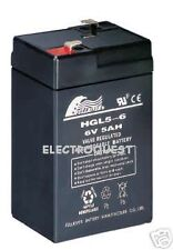 6v 4.2 Ah batería Peg Perego Injusa Feber coche eléctrico