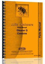 Allis Chalmers G Combine Parts Manual (AC-P-GL G COMB)