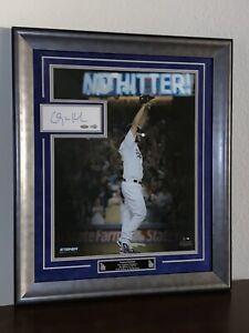 Clayton Kershaw Framed Cut AUTO No-Hitter Photo Steiner Sports MLB Hologram Auth