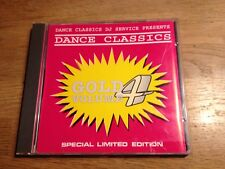 DANCE CLASSICS GOLD VOLUME 4 CD 12 TRACKS DJ 12. INCH VERSIONS:DAVID BOWIE RARE