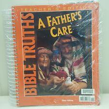 Bob Jones Teachers Edition Book BJU Homeschool Spiralbound A Fathers Care Bible