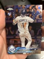 2018 Topps Chrome Update Willy Adames Rookie Debut HMT100 Tampa Bay Rays - QTY