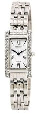 Citizen Eco-Drive Silhouette Crystal Stainless Steel Ladies Watch EX1470-51A