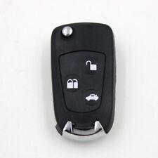 3 Buttons Flip Key Shell w/ Key Blank for FORD Focus Ka Mondeo Remote Key Fob