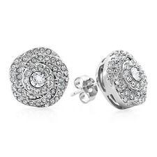 Ohrschmuck aus Sterlingsilber mit Diamanten