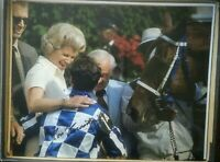 Secretariat photograph Kentucky Derby 1973 signed 8x10 ron turcotte autograph