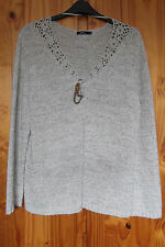 New Dash Size 20 Cardigan with Blanket Pin Closure Natural Colour