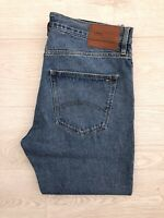 Tommy Hilfiger Mens Mid Blue Rigid Randy Relaxed Cropped Jeans W34 L32 BNWT £145