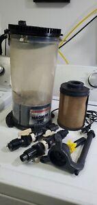 Marineland Magnum 350 Canister Filter- Used- Works fine.