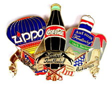 "ZIPPO BALLON ""SPECIAL SHAPE"" Pin / Pins - BORKEN 2010 mit COCA COLA [3734]"