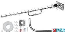 Maxview 18 elelment TV aerial KIT DIGITAL STATIC CARAVAN LOFT BALCONY SOFFIT