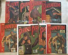 THE PHANTOM - 8 issues, LEE FALK, AUSTRALIAN,  LOT!!! Reprint Comics